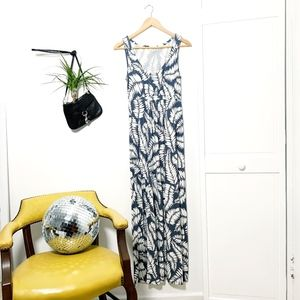 Boden Tropical Maxi Dress Stretch - 6